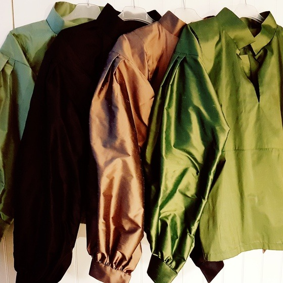 silkeskjorter